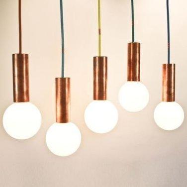 Pretty Aqua Pendant Lamp Ideas 39