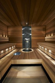 Wonderful Home Sauna Design Ideas 01
