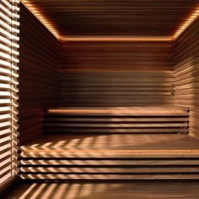 Wonderful Home Sauna Design Ideas 02