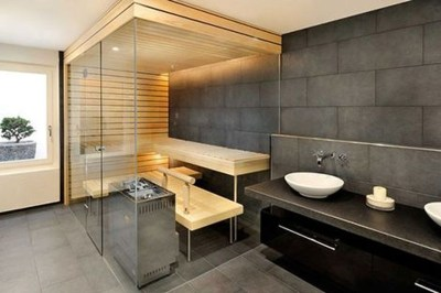 Wonderful Home Sauna Design Ideas 06