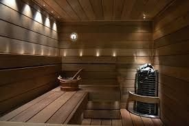 Wonderful Home Sauna Design Ideas 15