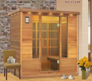 Wonderful Home Sauna Design Ideas 35