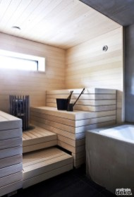 Wonderful Home Sauna Design Ideas 37