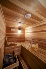 Wonderful Home Sauna Design Ideas 43