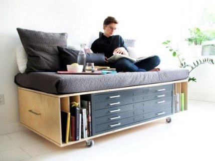 Wonderful Multifunctional Bed For Space Saving Ideas 20