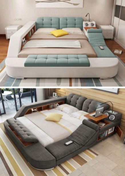 Wonderful Multifunctional Bed For Space Saving Ideas 24