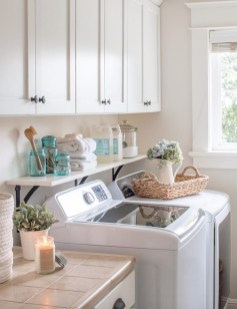 Amazing Diy Laundry Room Makeover With Farmhouse Style Ideas 10