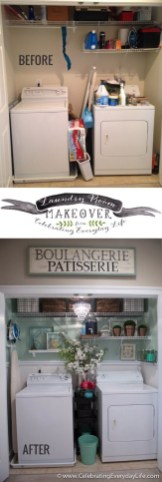 Amazing Diy Laundry Room Makeover With Farmhouse Style Ideas 27