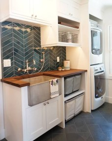 Amazing Diy Laundry Room Makeover With Farmhouse Style Ideas 28