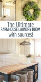 Amazing Diy Laundry Room Makeover With Farmhouse Style Ideas 29