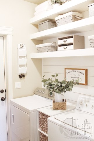 Amazing Diy Laundry Room Makeover With Farmhouse Style Ideas 39