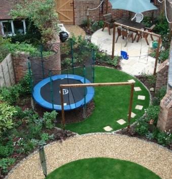Attractive Sunken Ideas For Backyard Landscape 01