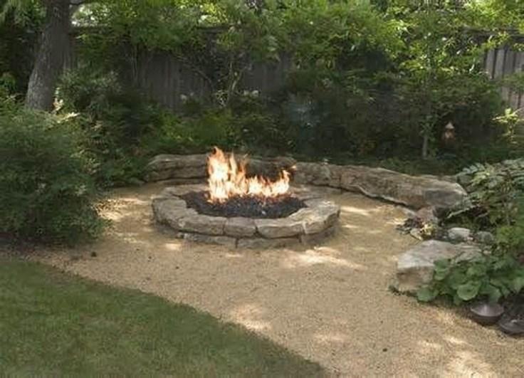 Attractive Sunken Ideas For Backyard Landscape 09