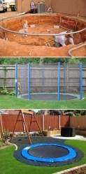 Attractive Sunken Ideas For Backyard Landscape 12