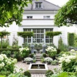 Attractive Sunken Ideas For Backyard Landscape 13