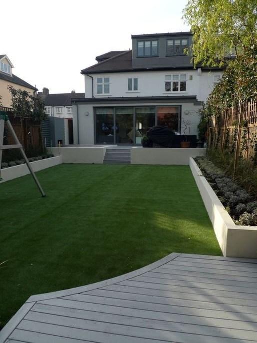 Attractive Sunken Ideas For Backyard Landscape 29