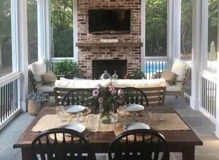 Best Ways To Create A Relaxing Porch Ideas For Big Family 37