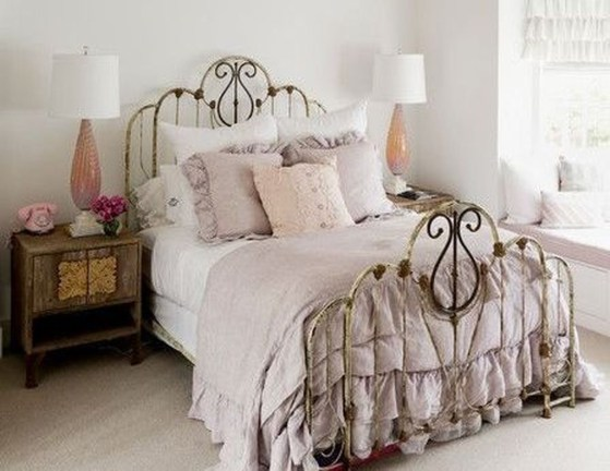 Comfy Boho Bedroom Decor With Attractive Color Ideas 41