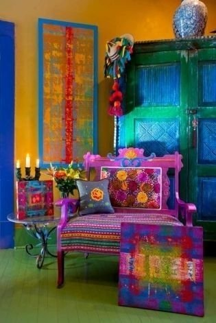Comfy Boho Bedroom Decor With Attractive Color Ideas 42