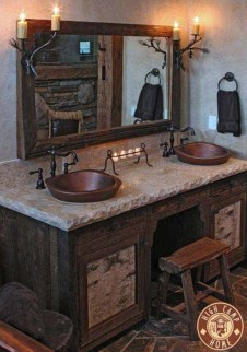 Creative Rustic Bathroom Ideas For Upgrade Your House 21