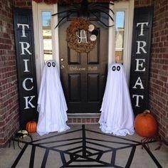 Elegant Diy Halloween Ideas For Outdoor Decoration 07