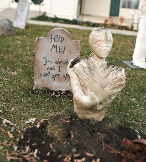 Elegant Diy Halloween Ideas For Outdoor Decoration 17