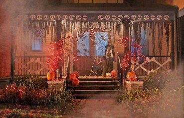 Elegant Diy Halloween Ideas For Outdoor Decoration 40