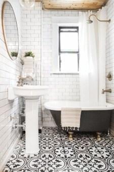 Lovely Modern Farmhouse Design For Bathroom Remodel Ideas 01