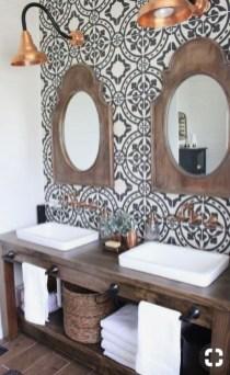 Lovely Modern Farmhouse Design For Bathroom Remodel Ideas 12