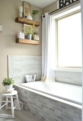 Lovely Modern Farmhouse Design For Bathroom Remodel Ideas 16