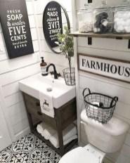 Lovely Modern Farmhouse Design For Bathroom Remodel Ideas 46