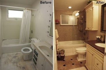 Minimalist Bathroom Winter Decoration Ideas 02
