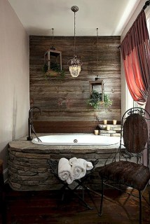 Minimalist Bathroom Winter Decoration Ideas 30