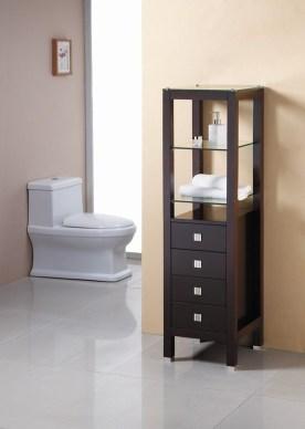 Minimalist Small Bathroom Storage Ideas To Save Space 08