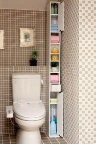 Minimalist Small Bathroom Storage Ideas To Save Space 24
