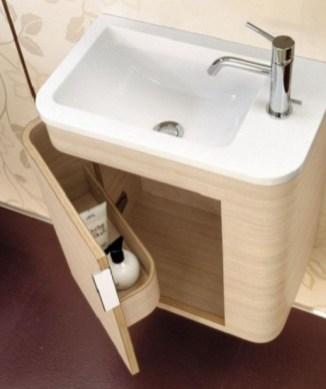 Minimalist Small Bathroom Storage Ideas To Save Space 34