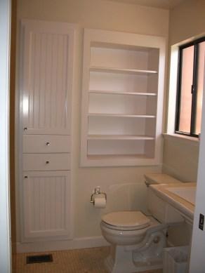 Minimalist Small Bathroom Storage Ideas To Save Space 36