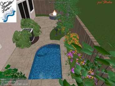 Modern Small Backyard Ideas With Swimming Pool Design 03