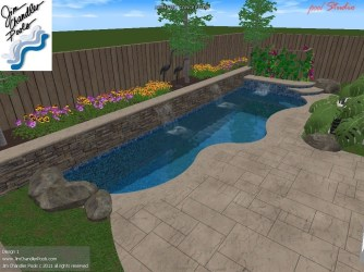 Modern Small Backyard Ideas With Swimming Pool Design 06
