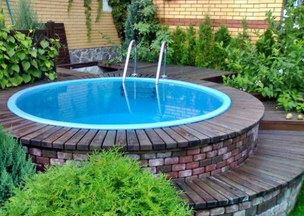 Modern Small Backyard Ideas With Swimming Pool Design 28