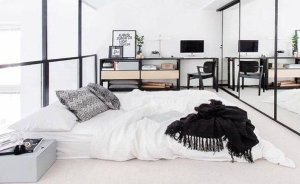 Popular Scandinavian Bedroom Design For Simple Bedroom Ideas 49