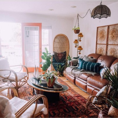 Stunning Bohemian Style Home Decor Ideas 11