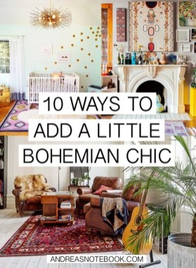 Stunning Bohemian Style Home Decor Ideas 19