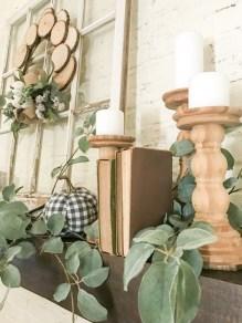 Stylish Fall Home Decor Ideas With Farmhouse Style 01