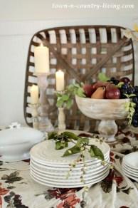 Stylish Fall Home Decor Ideas With Farmhouse Style 03