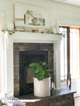 Stylish Fall Home Decor Ideas With Farmhouse Style 15