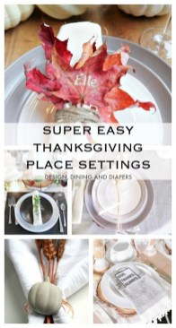 Stylish Thanksgiving Table Ideas 24