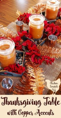 Stylish Thanksgiving Table Ideas 42