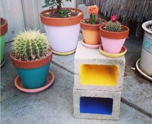 Astonishing Diy Cinder Block Furniture Decor Ideas 04