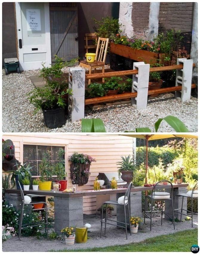 Astonishing Diy Cinder Block Furniture Decor Ideas 09